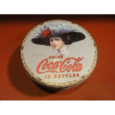 1 BOITE COCA-COLA  DIAMETRE 17CM