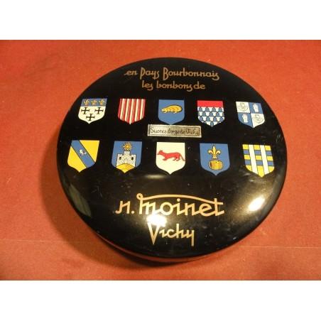 BOITE BONBONS MOINET VICHY  DIAMETRE 15.40CM