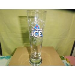 1 BOITE DE 6  VERRES  LABATT  ICE  25CL