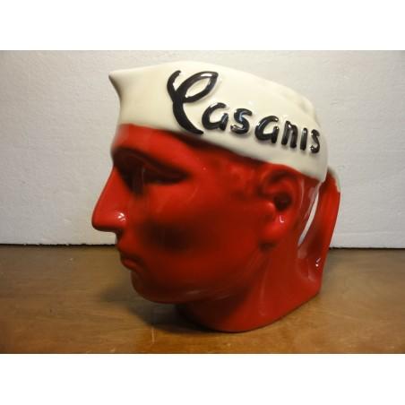 PICHET CASANIS ROUGE  BANDEAU BLANC
