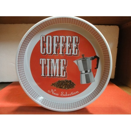 PLATEAU  COFFEE TIME  DIAMETRE 30CM