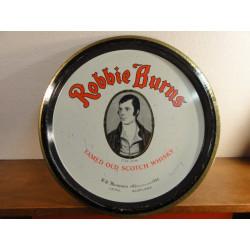 1 PLATEAU WHISKY ROBBIE  BURNS