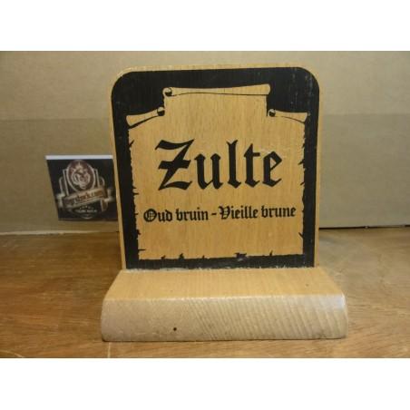PORTE SOUS BOCK  ZULTE EN BOIS 9.70CM X9.50CM