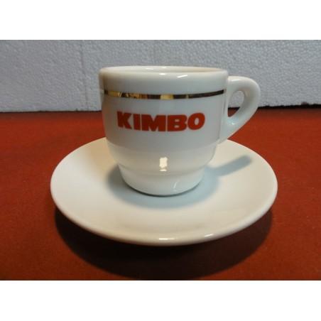 6 TASSES A CAFE KIMBO + 6 SOUS TASSES
