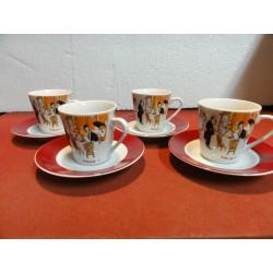4 TASSES A CAFE MAXIM'S