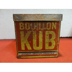 BOITE  BOUILLON KUB 11X11X11
