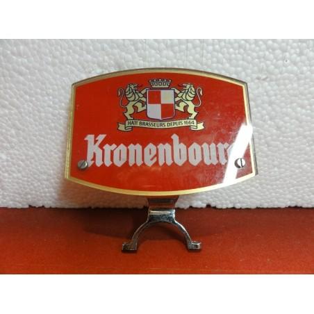 CAVALIER DE POMPE A BIERE KRONENBOURG  1.X7.5