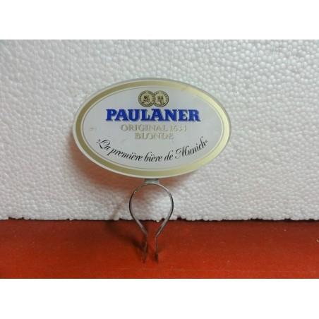 CAVALIER DE POMPE A BIERE PAULANER  BLONDE  11CM X7CM