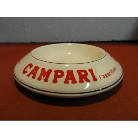CENDRIER  CAMPARI  DIAMETRE 14.50CM