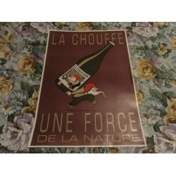 AFFICHE  LA CHOUFFE  63CM...