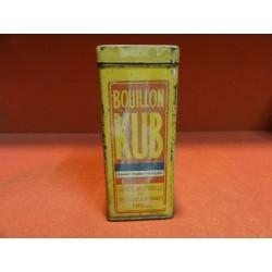 BOITE BOUILLON KUB HT. 11CM