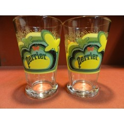 2 VERRES PERRIER COLLECTOR