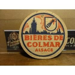 SOUS BOCK BIERES  DE COLMAR
