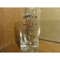 6 VERRES JAMESON  HT 10.80CM