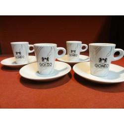 4 TASSES A CAFE GONEO +4...