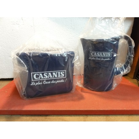 1 PICHET CASANIS+ 1 BAC A GLACE