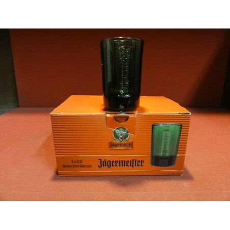 6 SHOOTERS  JAGERMEISTER  2CL  HT 7CM