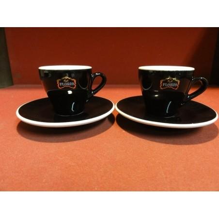 DEUX TASSES  A CAFE FLORIO  RICHARD