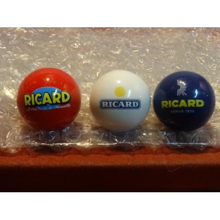 3 COCHONNETS RICARD  BLEU BLANC ROUGE