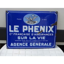 PLAQUE EMAILLEE ASSURANCE...