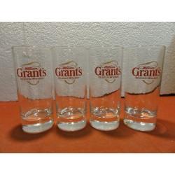 4 VERRES WILLIAM GRANT'S...