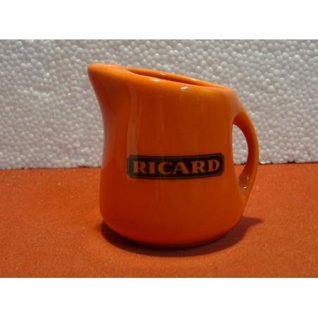 MINI PICHET RICARD  ORANGE ITALIE HT 7.50CM