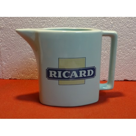 PICHET RICARD 1 LITRE BLEU  HT 13CM