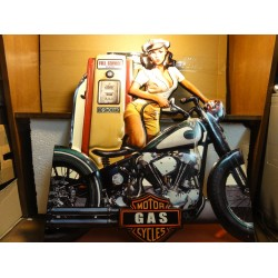 TOLE  MOTOR GAS CYCLES 70CM...