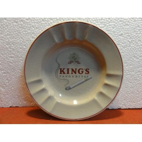 CENDRIER CIGARETTES FAVORITES KING'S  DIAMETRE 17CM