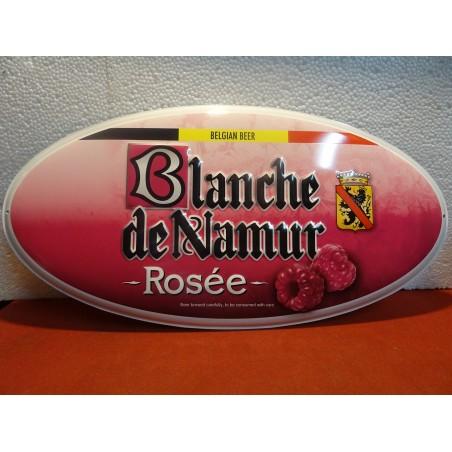 TOLE BLANCHE DE NAMUR ROSEE  45CM X23CM
