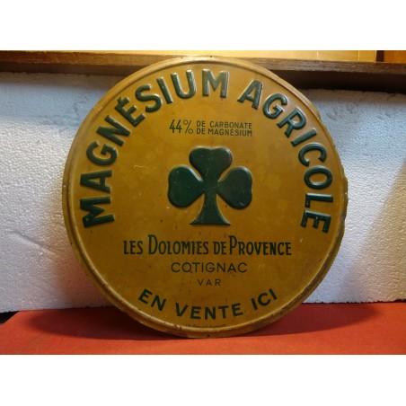 TOLE LITHO  MAGNESIUM  AGRICOLE  DIAMETRE 38CM