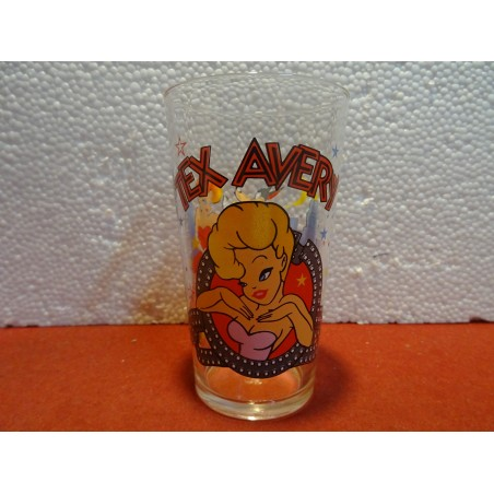 VERRE A MOUTARDE  AMORA  TEX AVERY HT 11.60CM