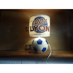 LAMPE 100% LYON  HT 20CM...