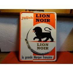 TOLE CIRAGE LION NOIR 40CM...