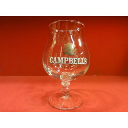 1 VERRE BIERE CAMPBELL'S 33 CL