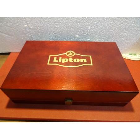 BOITE A THE LIPTON  34CM X 21CM X 9CM