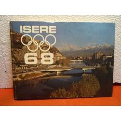 LIVRE SUR L'ISERE 1968 23CM...
