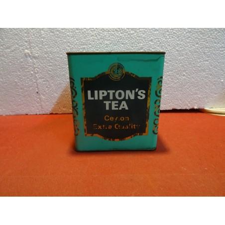 BOITE LIPTON'S TEA  11.50CM X11.50CM X12.50CM