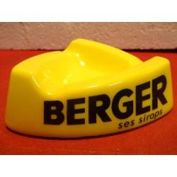 CENDRIER BERGER SES SIROPS...