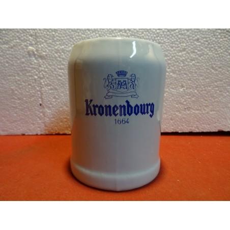 CHOPE 1664 KRONENBOURG 50CL EN GRES HT12.30CM