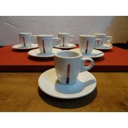 6 TASSES A CAFE  KIMBO...