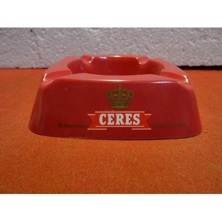 CENDRIER CERES/RED ERIK 12CM X12CM