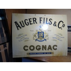 CARTON COGNAC AUGER FILS...