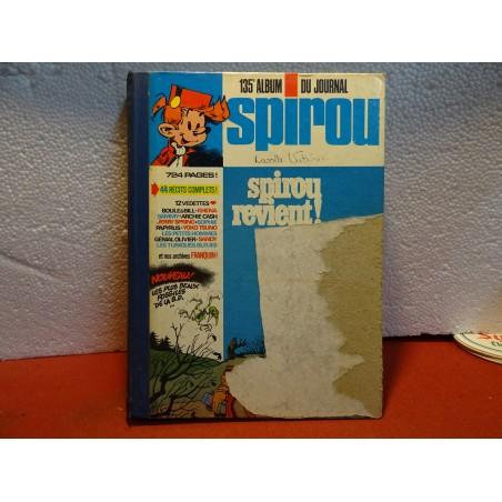 SPIROU  135/em ALBUM DU JOURNAL ANNEE 1975