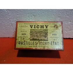 BOITE PASTILLES DE VICHY...