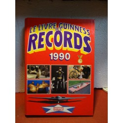 LIVRE GUINNESS DES RECORDS...