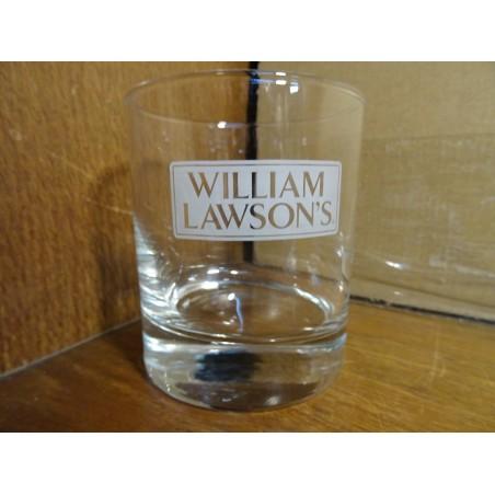 6 VERRES WILLIAM LAWSON'S 25CL HT 9.20CM