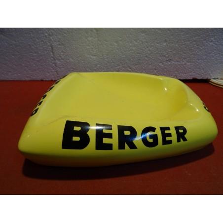 CENDRIER BERGER  SES SIROPS 22CM X20CM