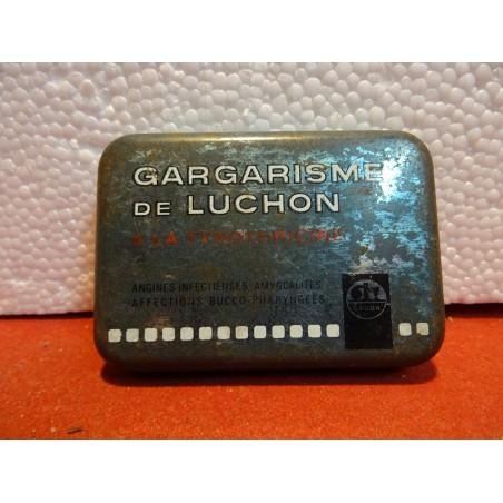 BOITE GARGARISME DE LUCHON  8.50CM X6CM X2CM