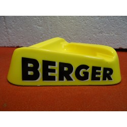 CENDRIER BERGER  14CM X14CM...